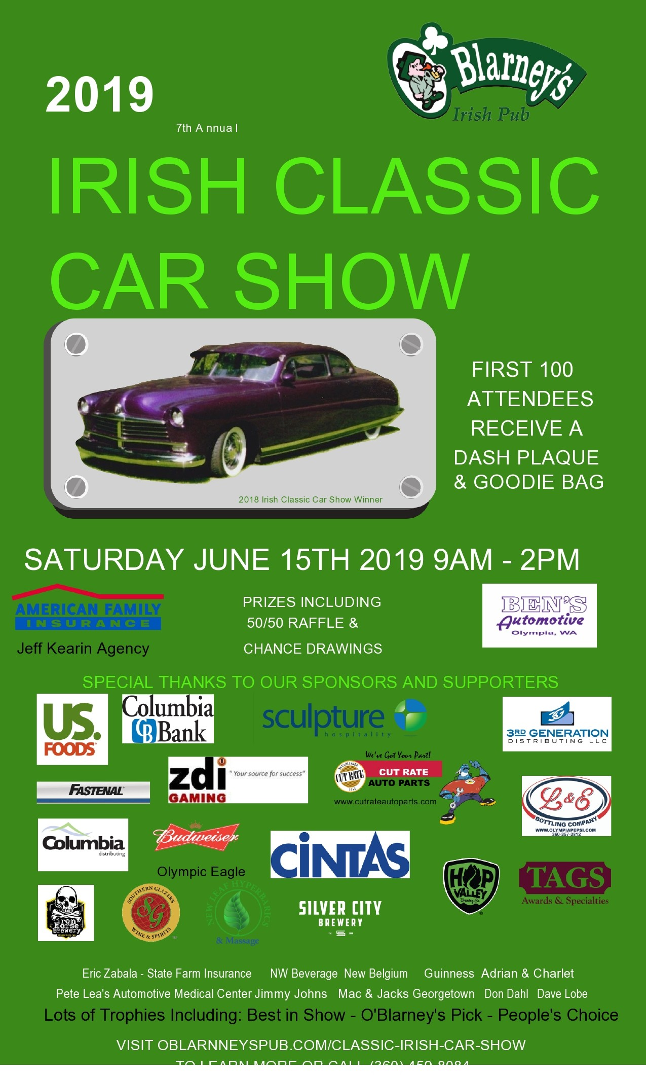 Free car show flyer 35
