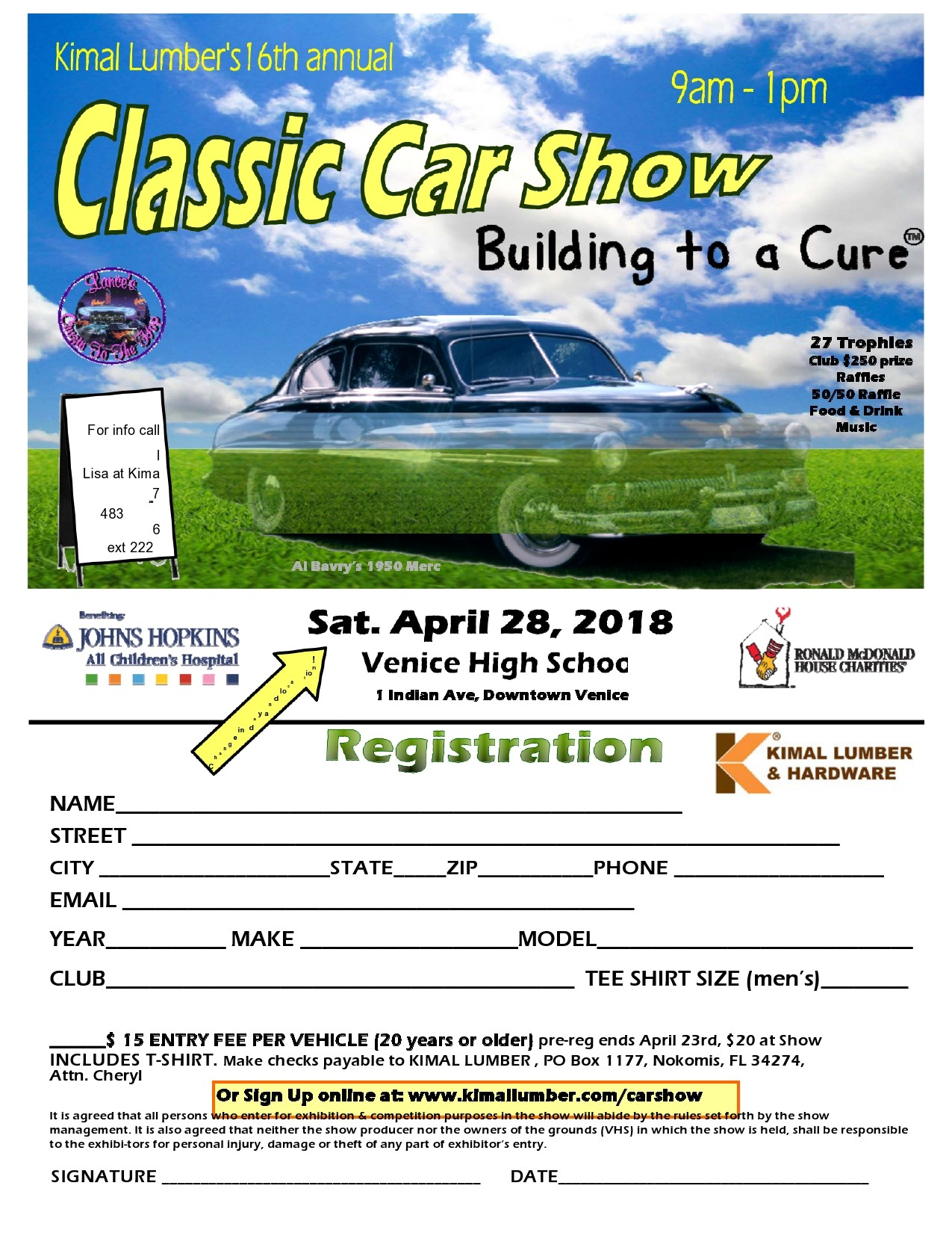 Free car show flyer 38