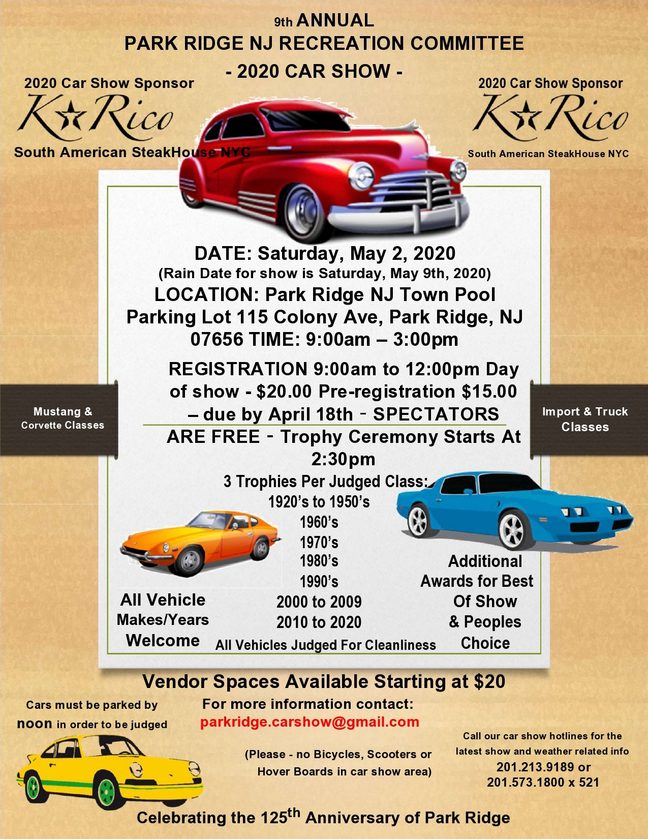 Free car show flyer 39