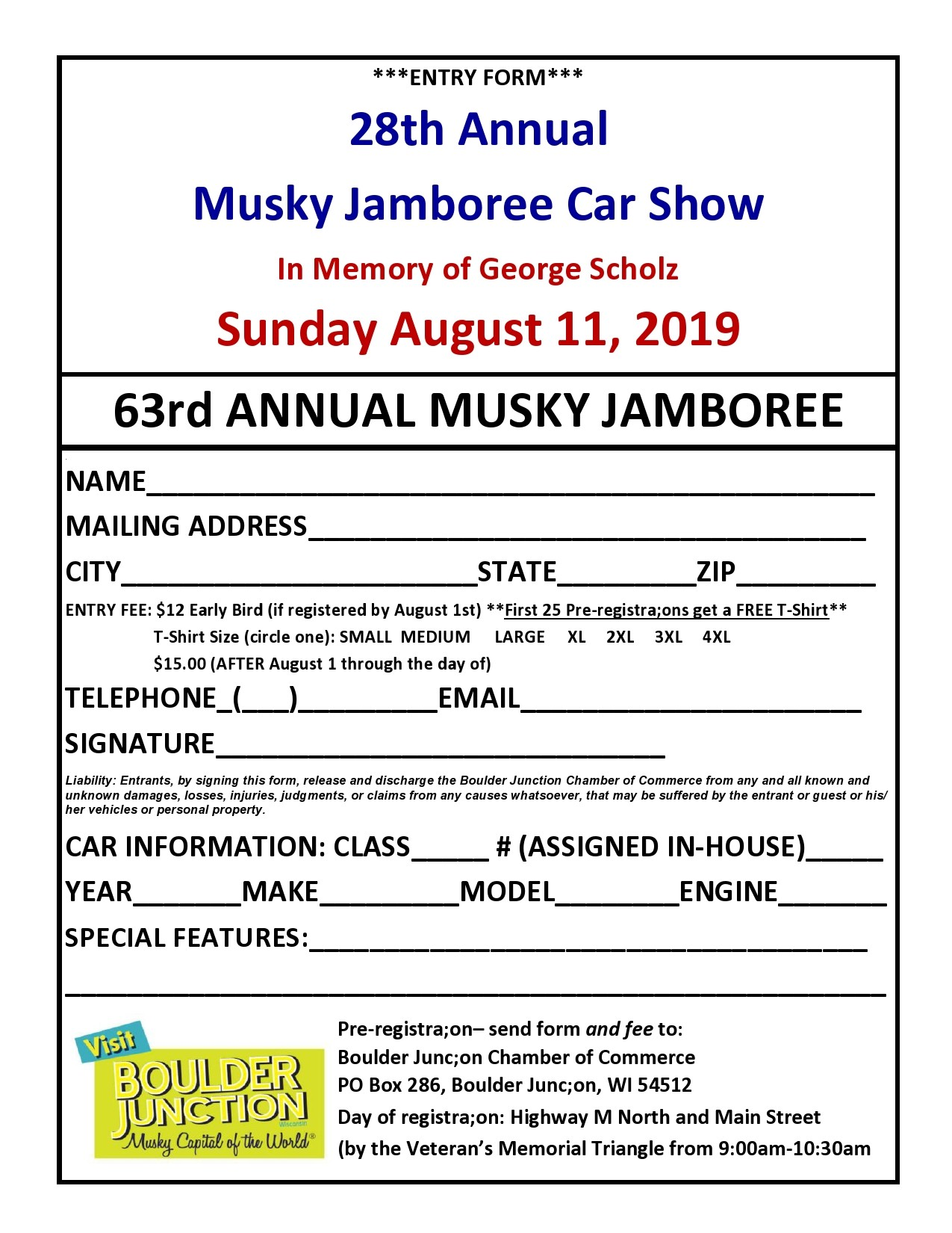 Free car show flyer 40