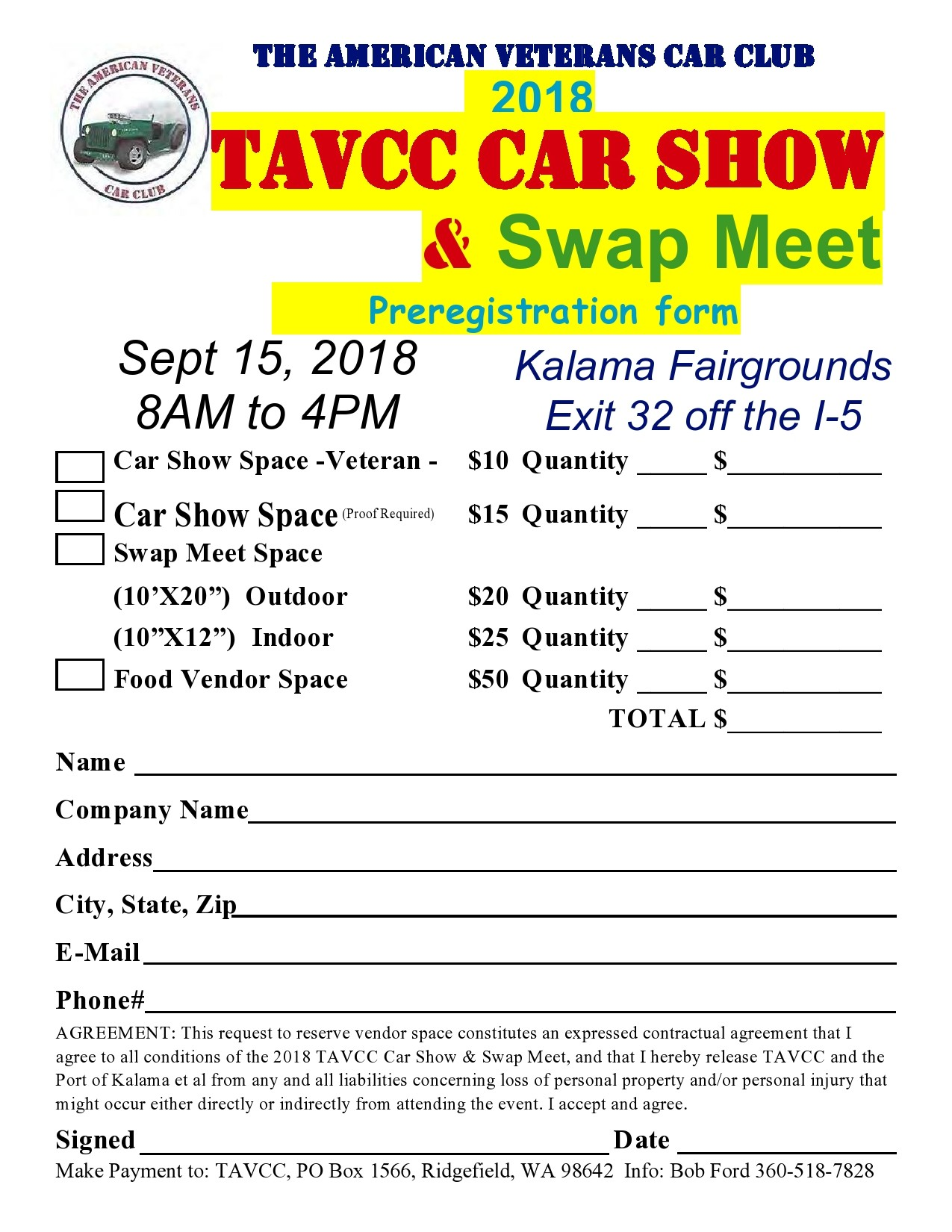 Free car show flyer 43