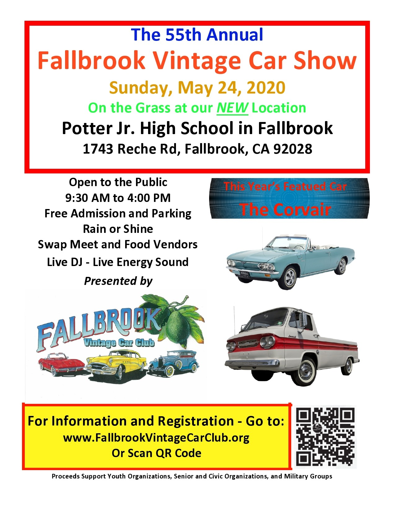 Free car show flyer 44