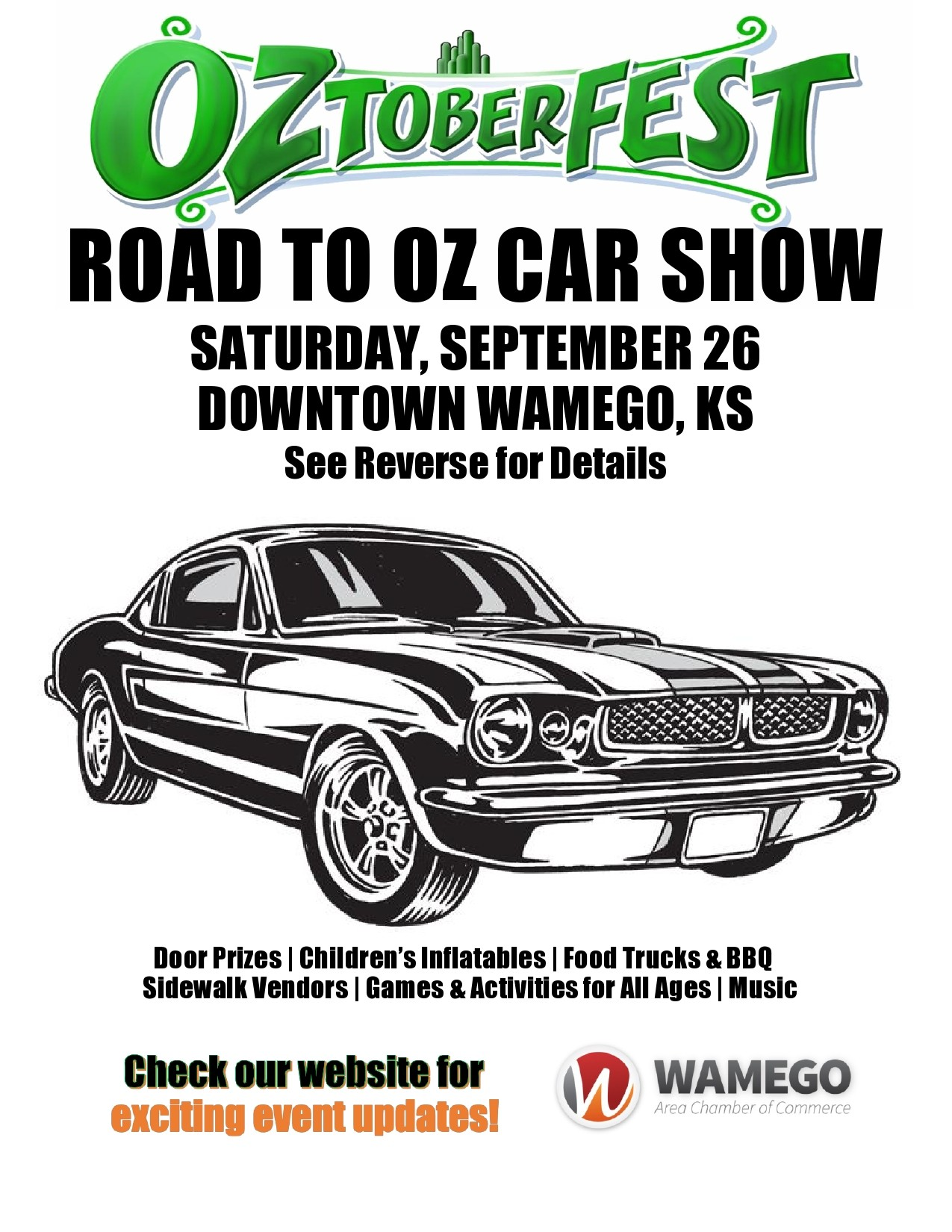 Free car show flyer 45