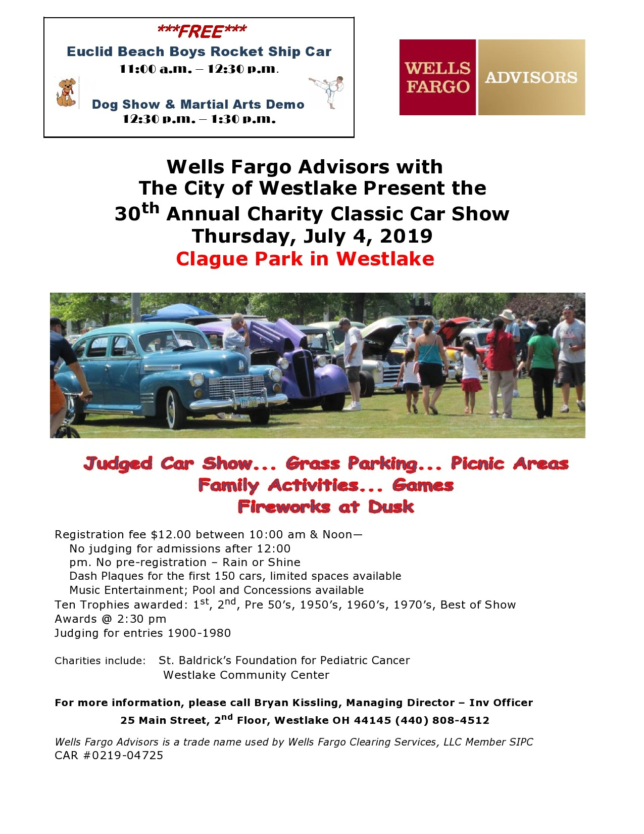 Free car show flyer 46