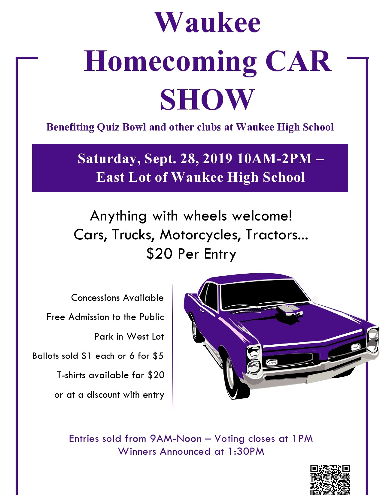 Free car show flyer 47
