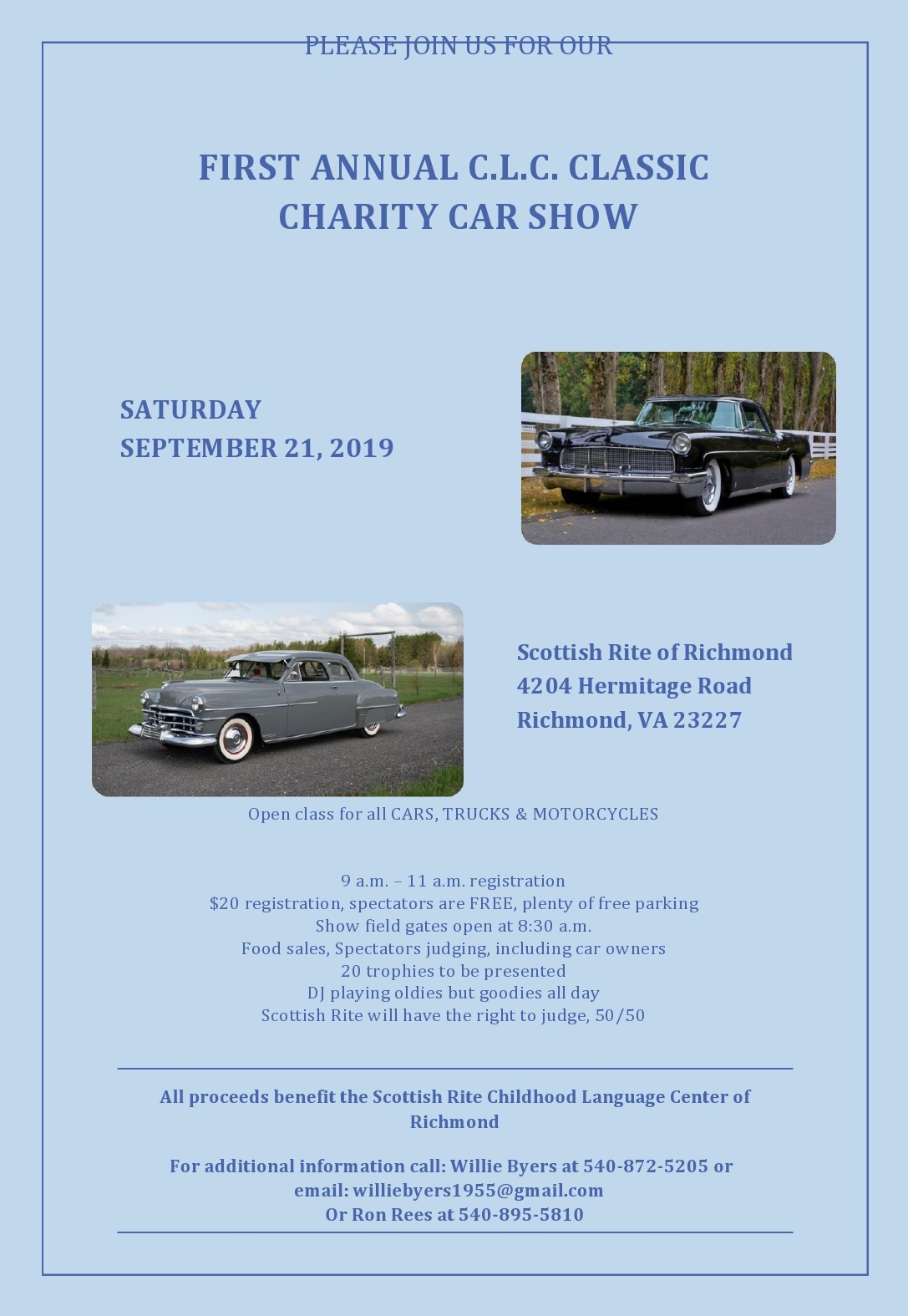 Free car show flyer 49