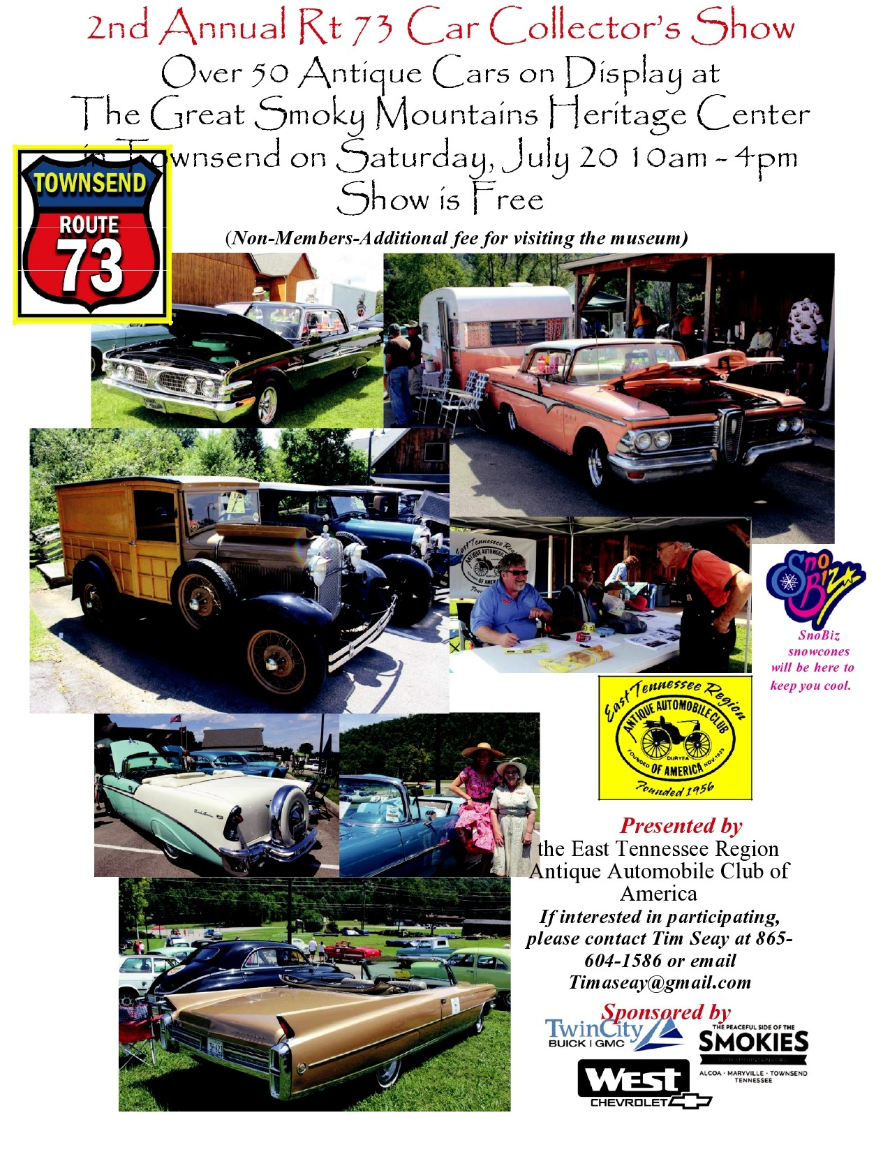 Free car show flyer 50
