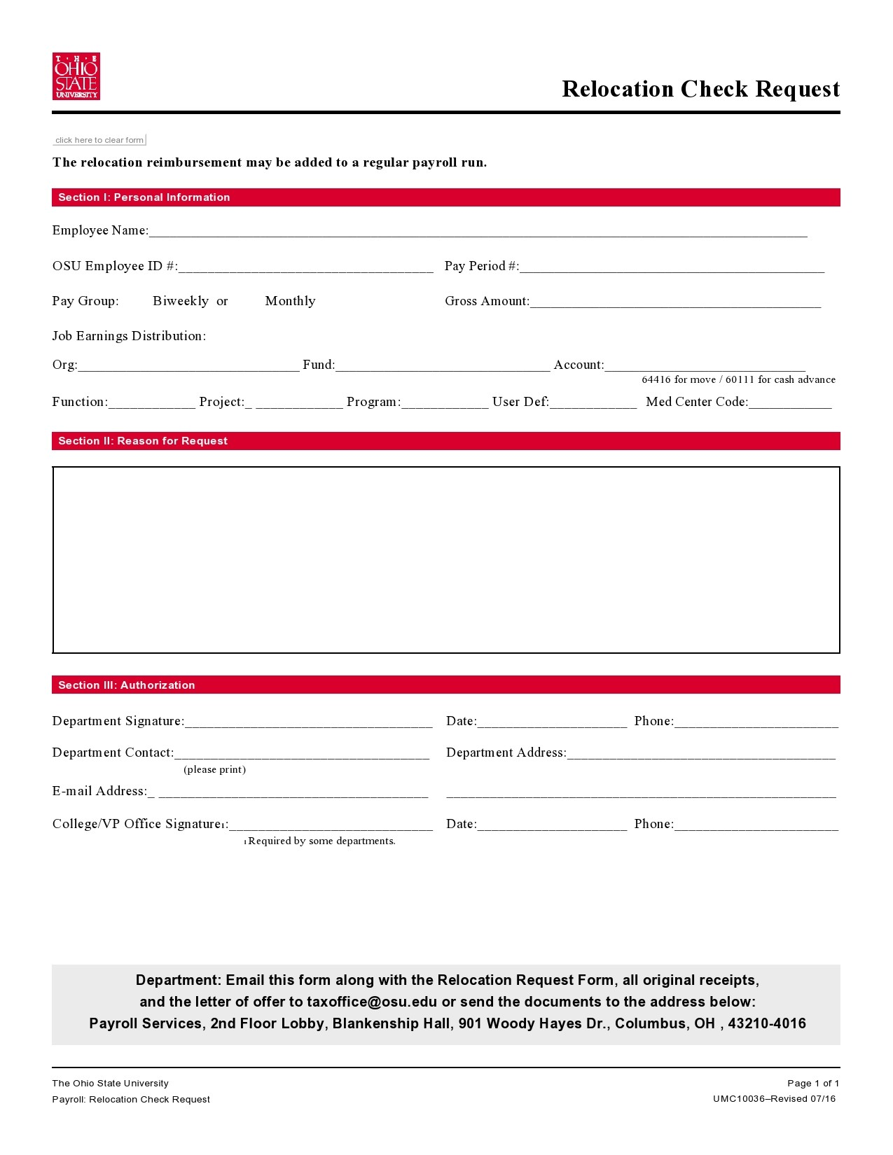 Free check request form 23