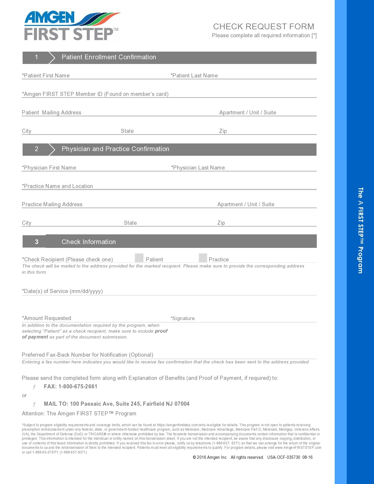 Free check request form 32