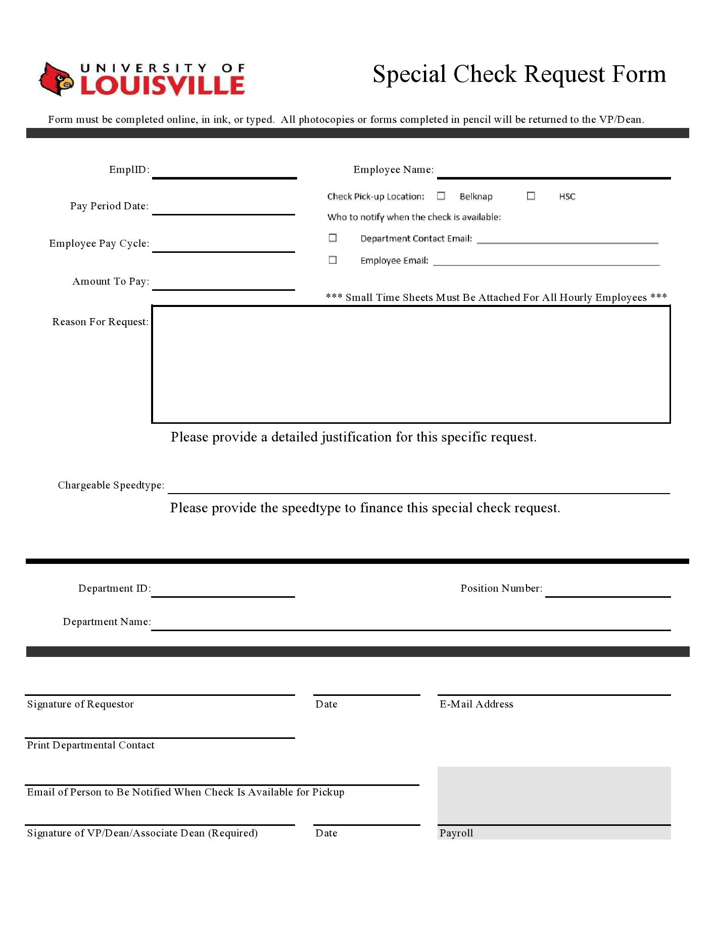 Free check request form 36