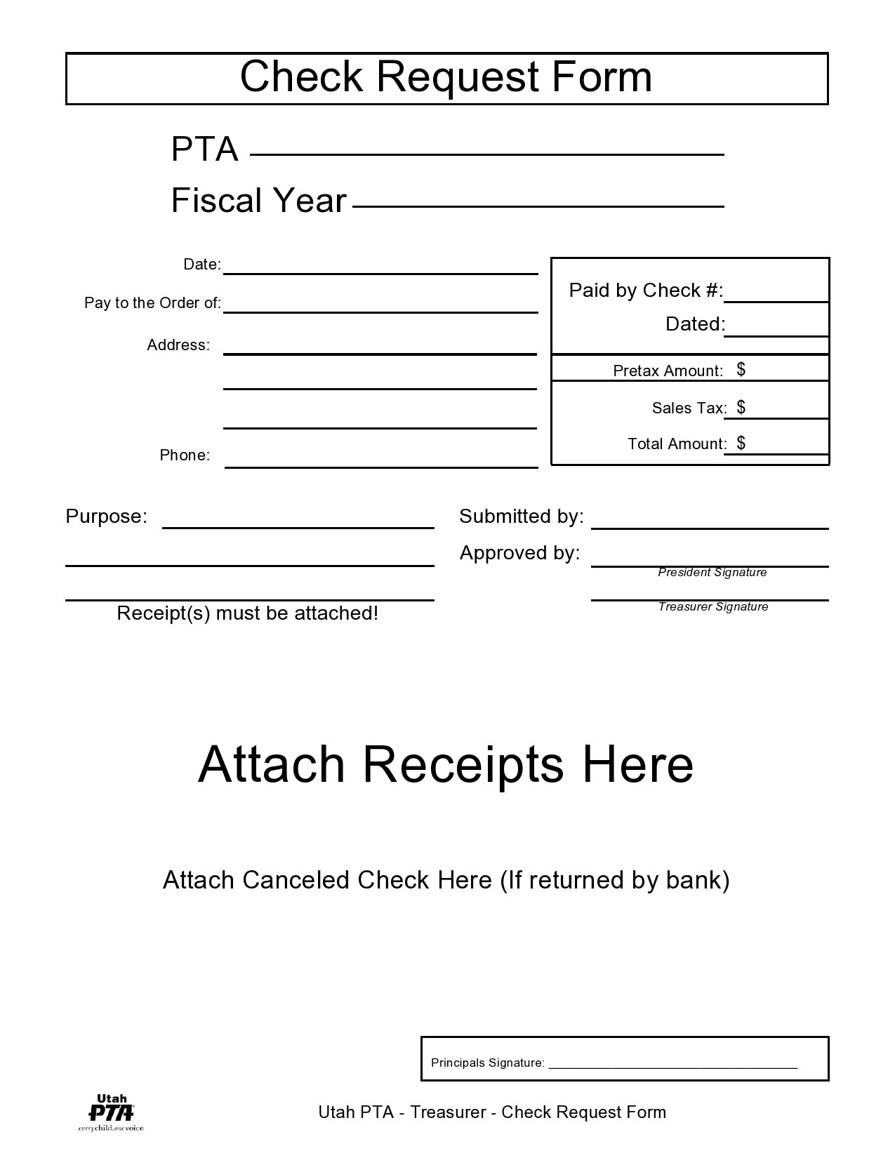 Free check request form 37