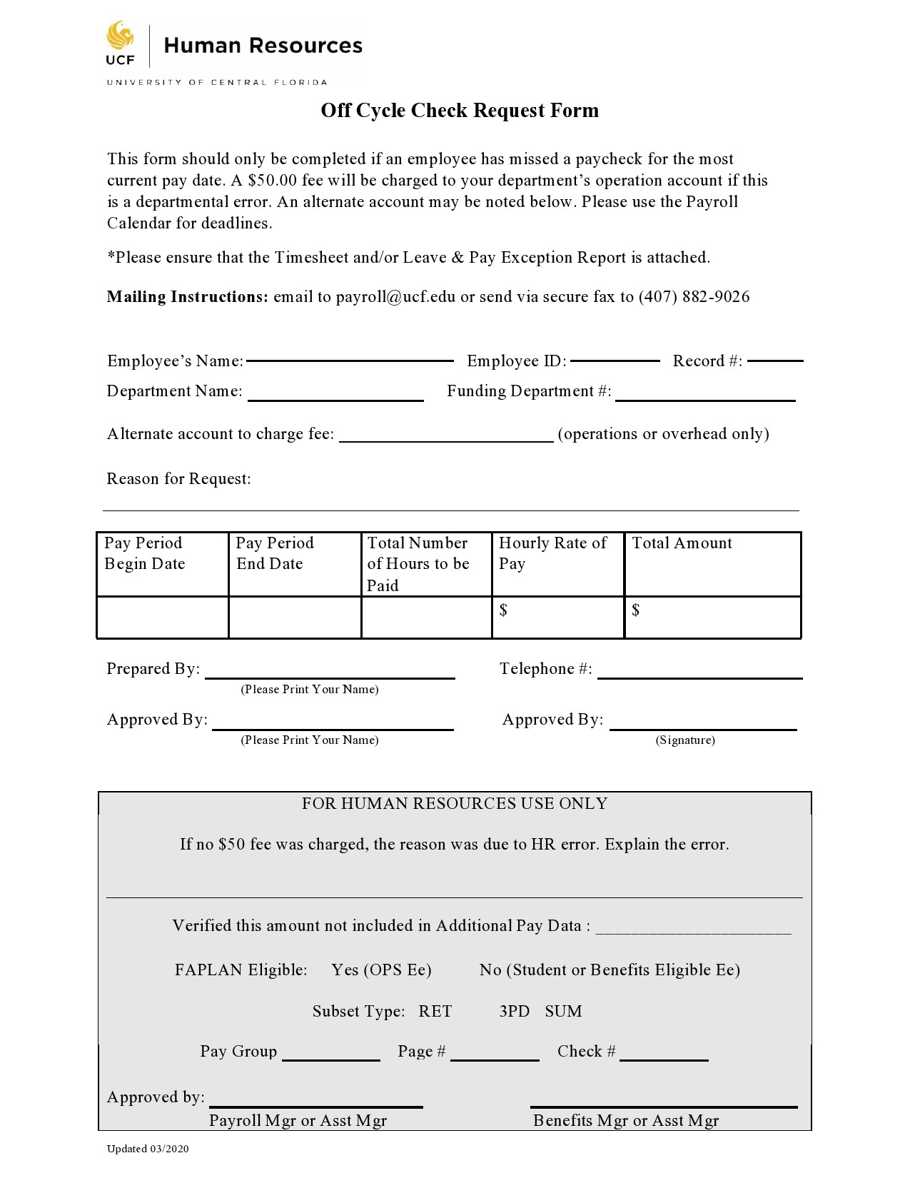 Free check request form 41