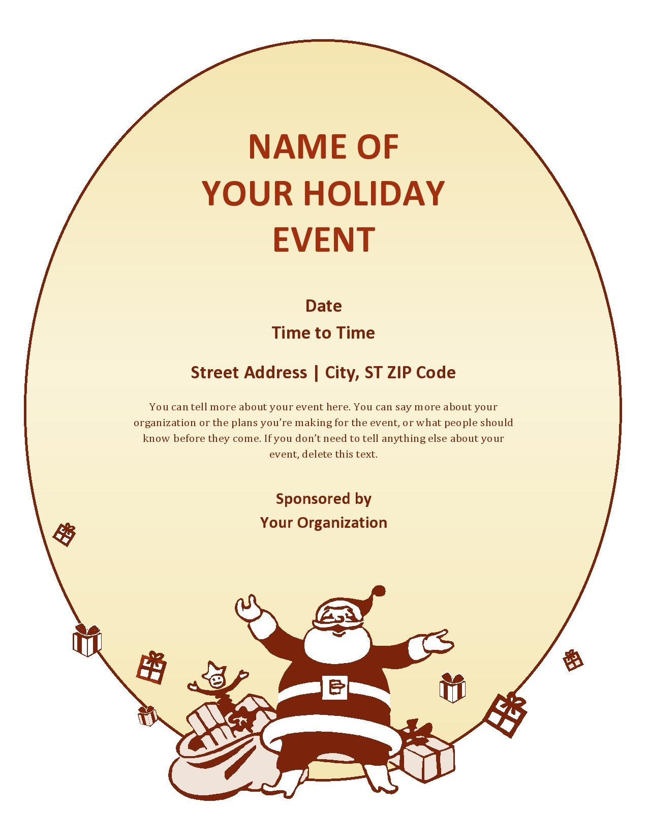 Free christmas flyer 01