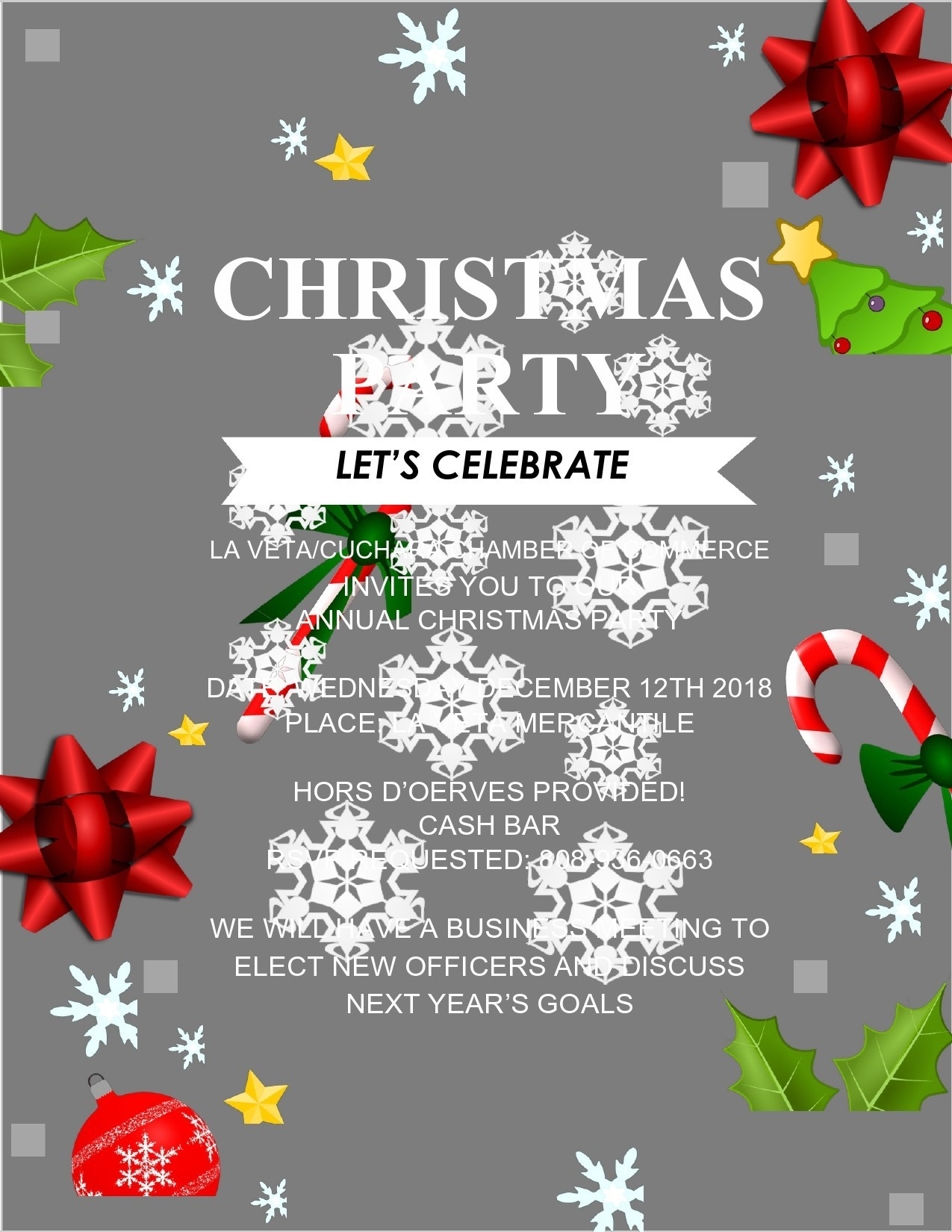 Free christmas flyer 04