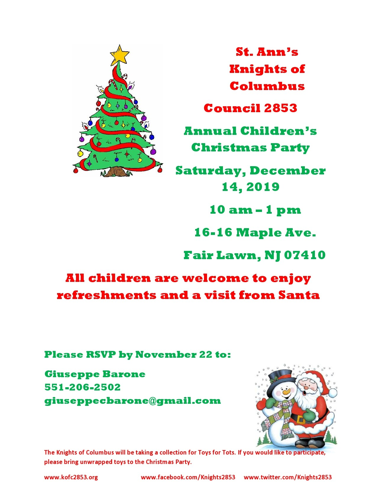 Free christmas flyer 10