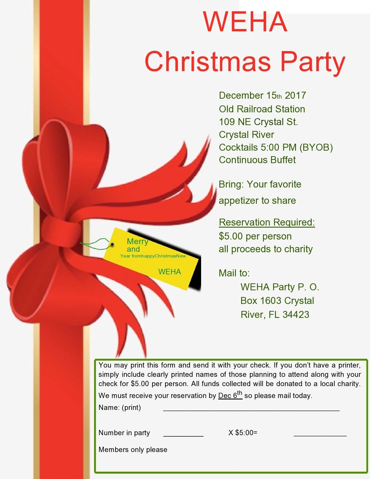 Free christmas flyer 20