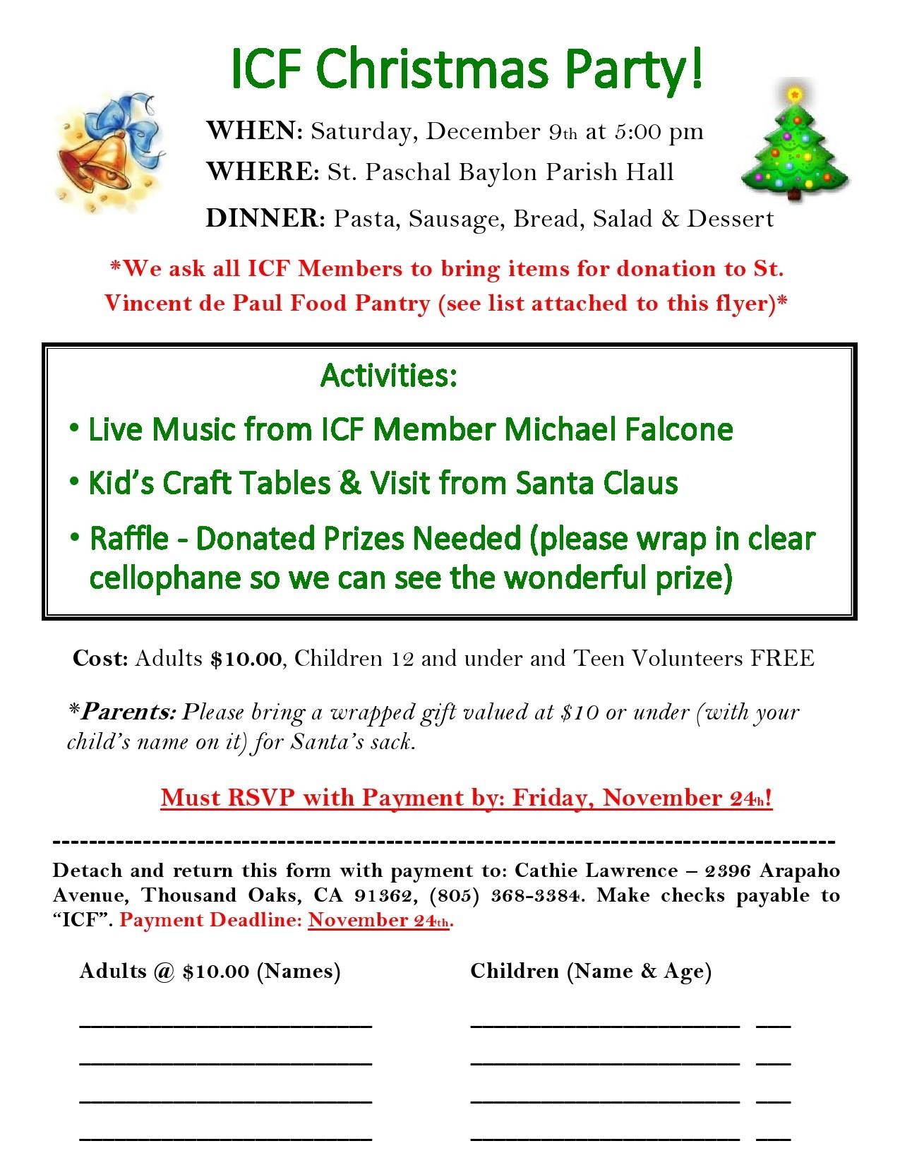Free christmas flyer 34