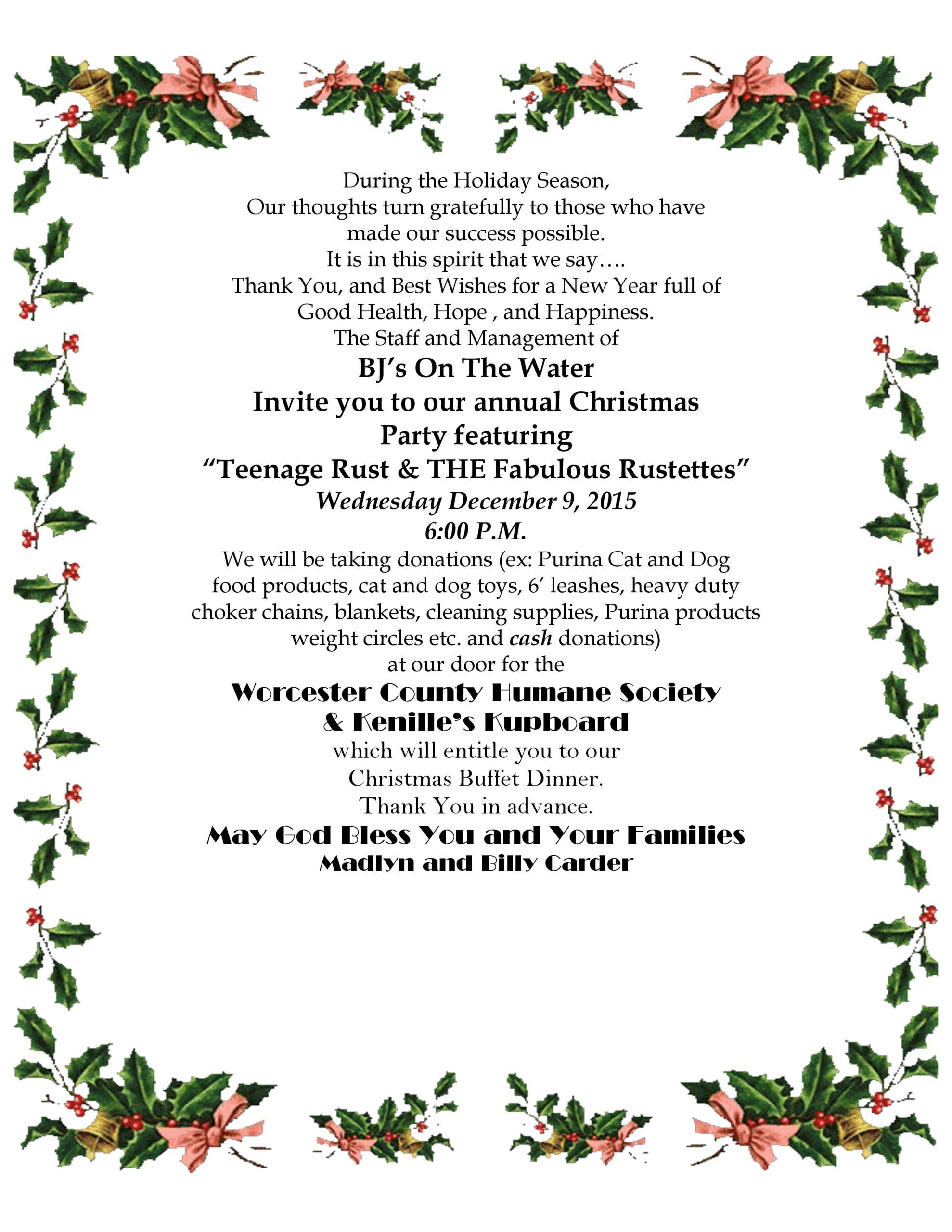 Free christmas flyer 42