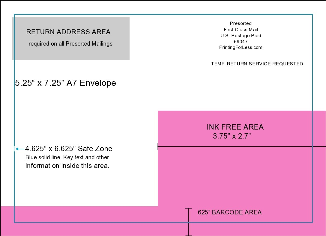 Free envelope address template 16