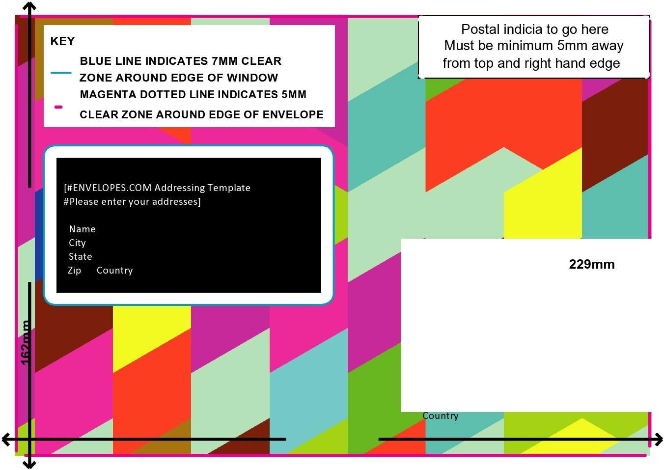 Free envelope address template 21