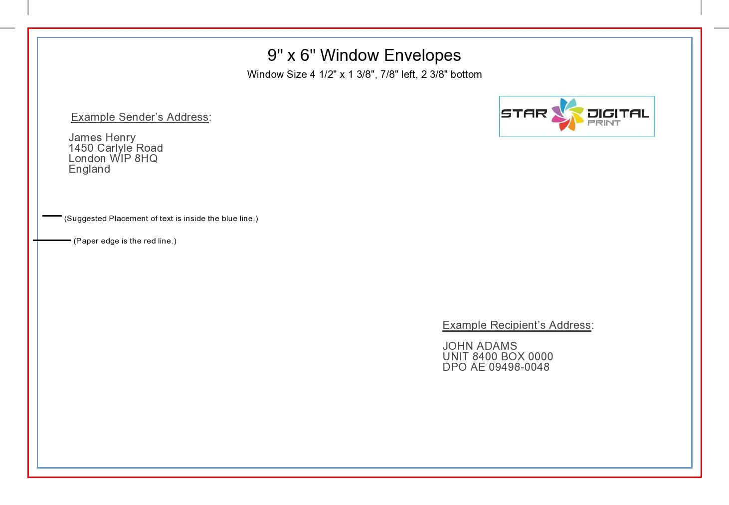 Free envelope address template 24