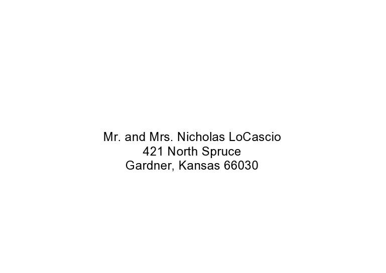 Free envelope address template 26