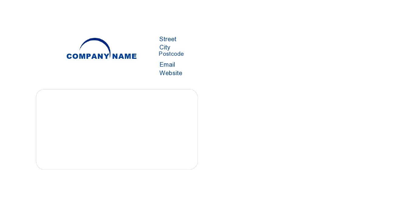 Free envelope address template 27