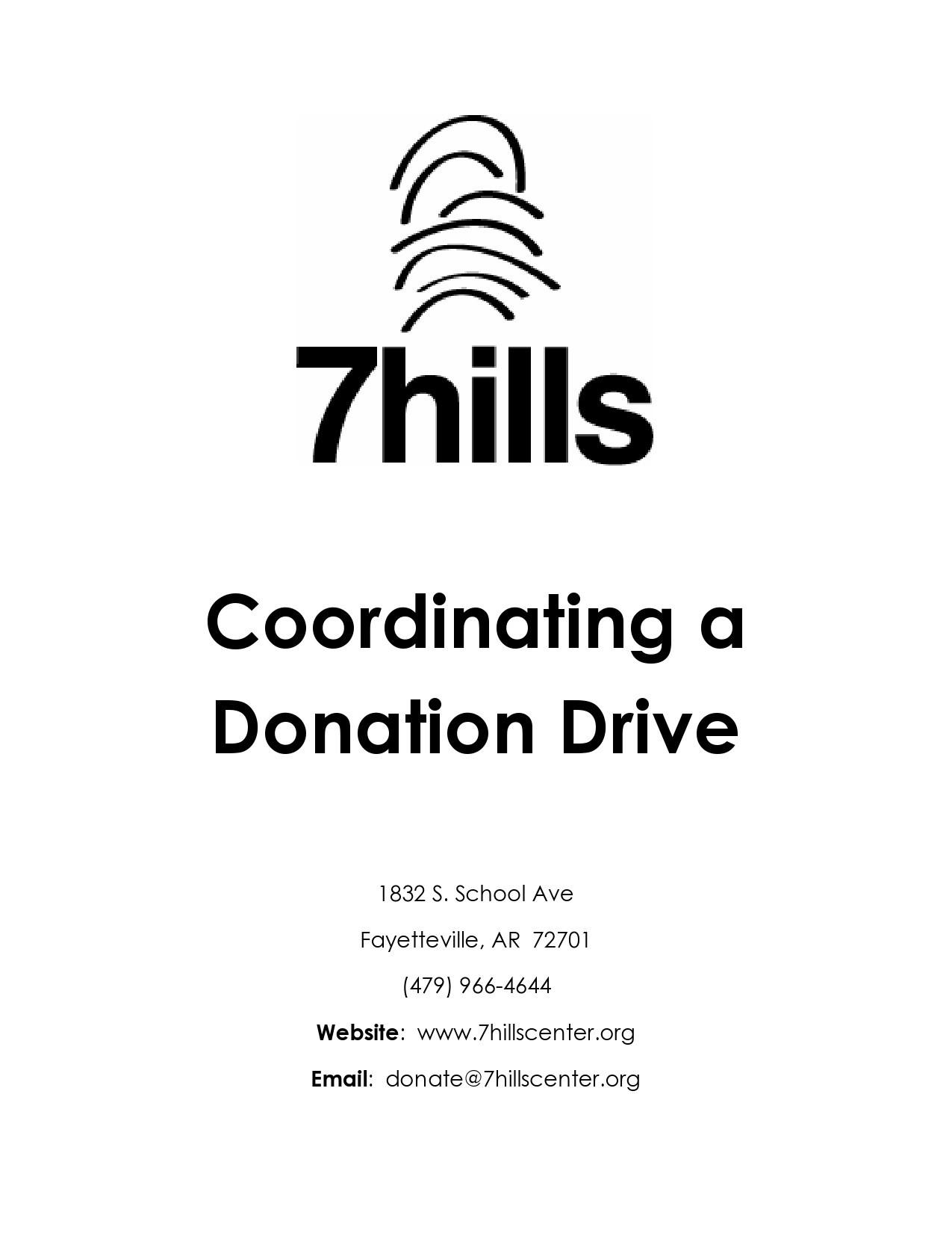 Free fundraiser flyer 03