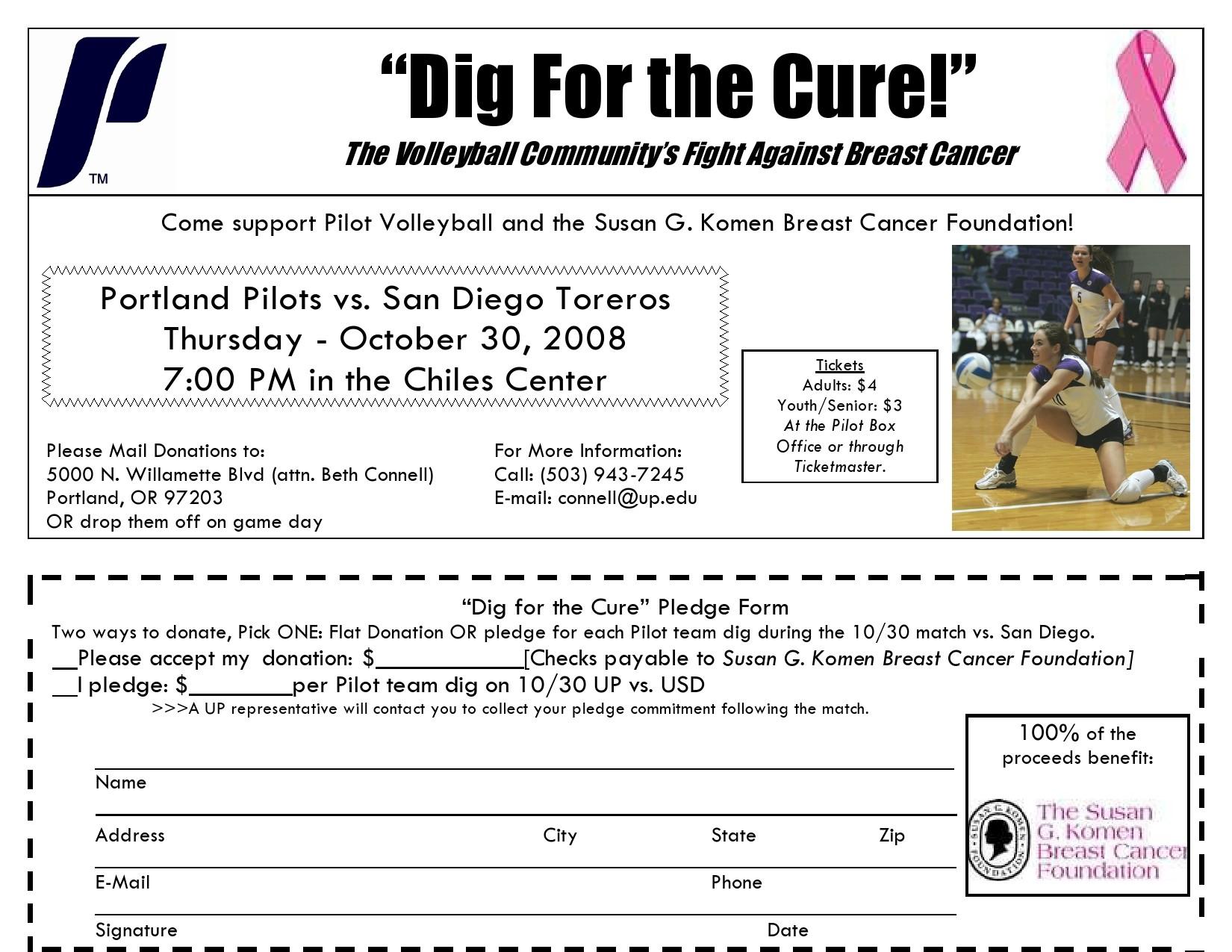 Free fundraiser flyer 04