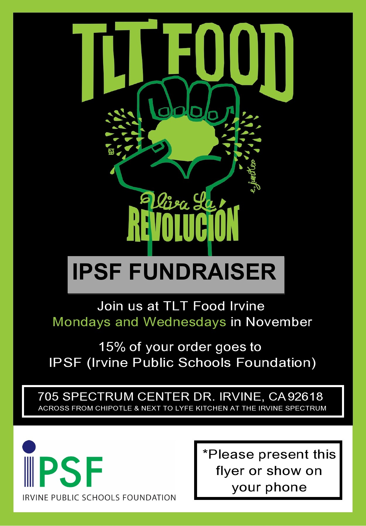 Free fundraiser flyer 08