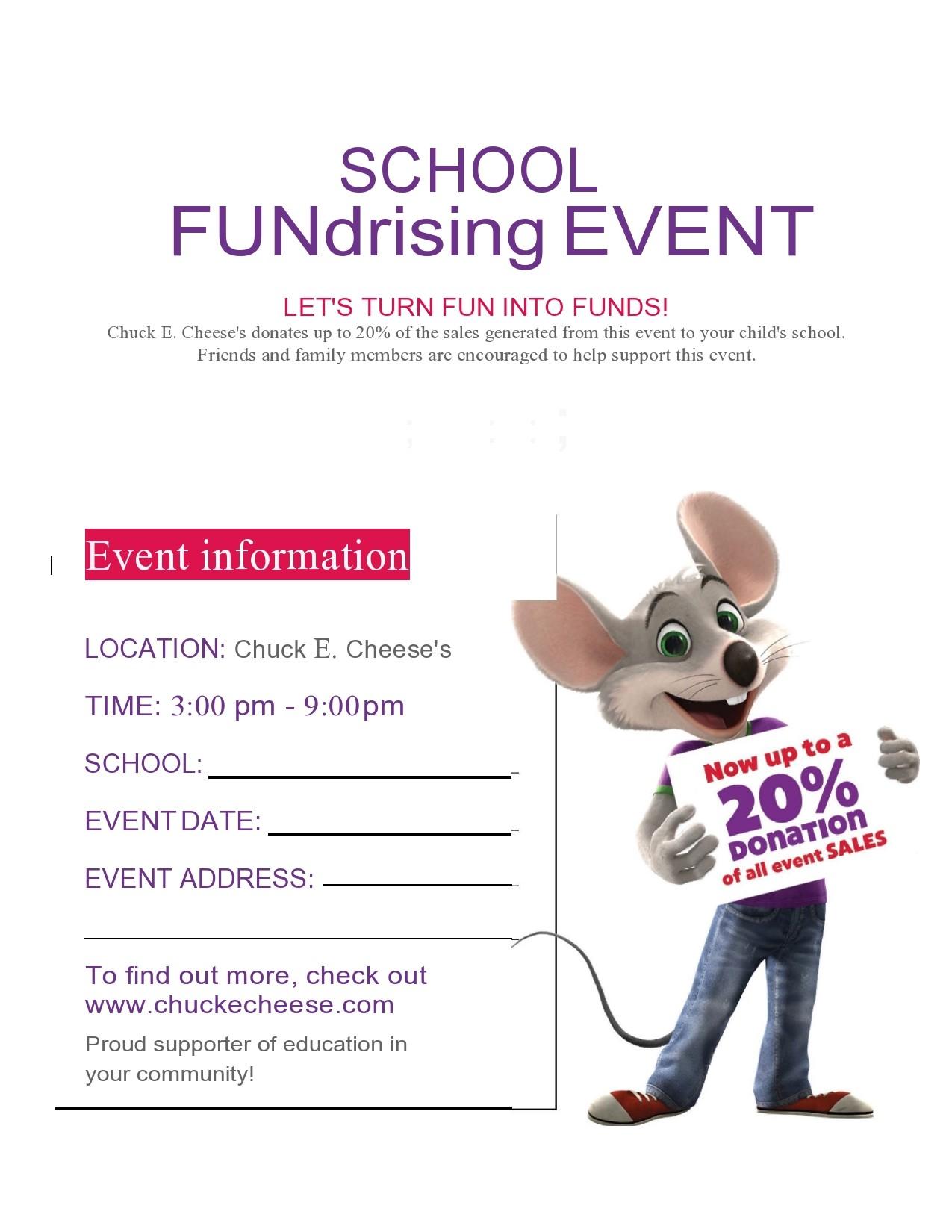 Free fundraiser flyer 09