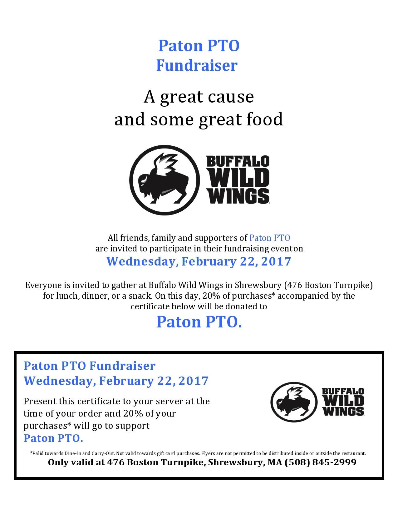 Free fundraiser flyer 14