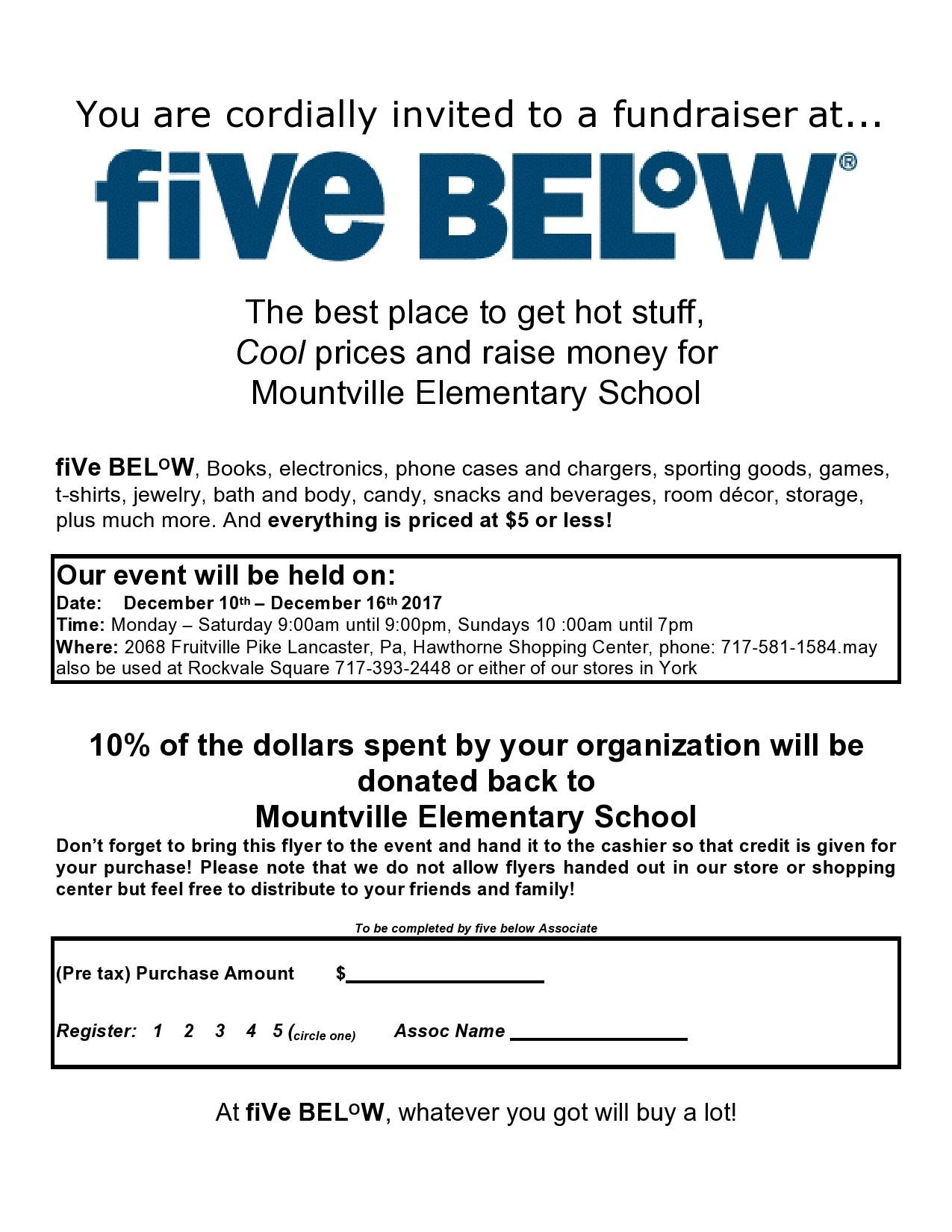 Free fundraiser flyer 20