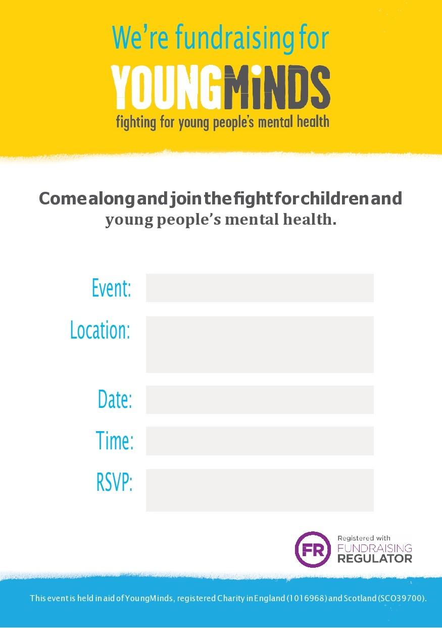 Free fundraiser flyer 22