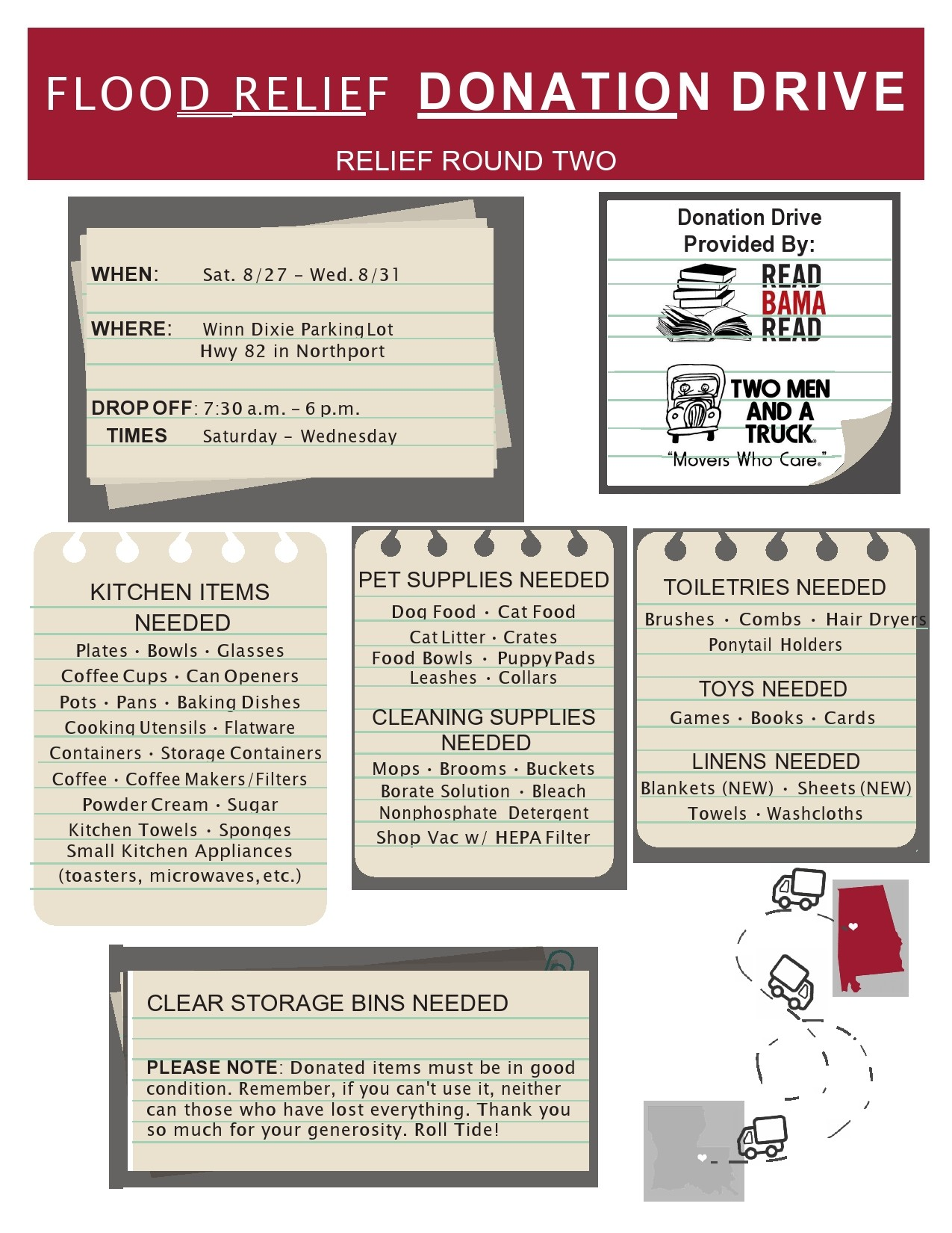 Free fundraiser flyer 25