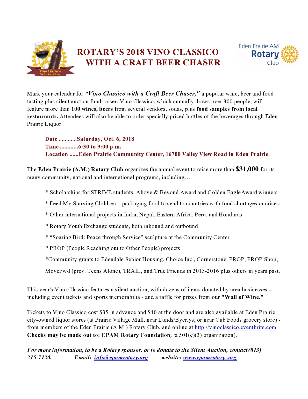 Free fundraiser flyer 31