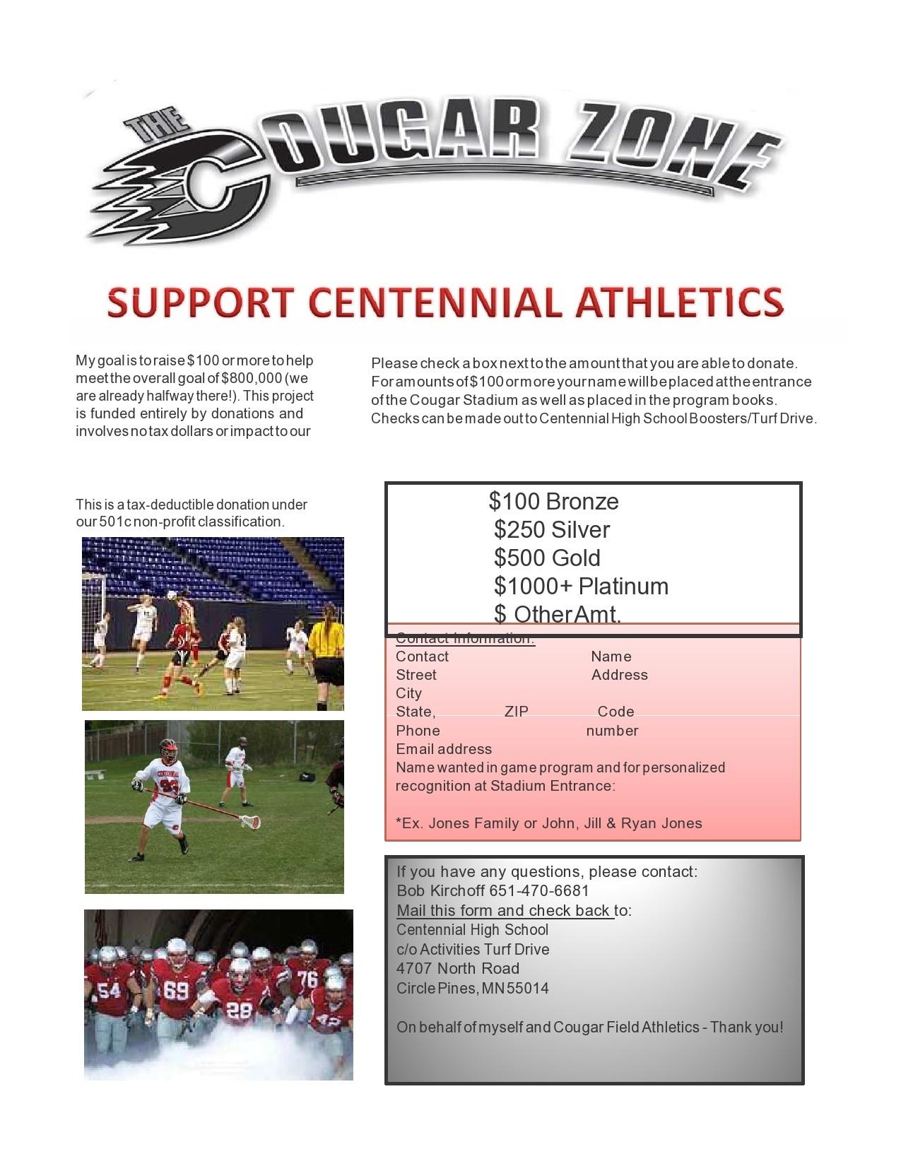 Free fundraiser flyer 32