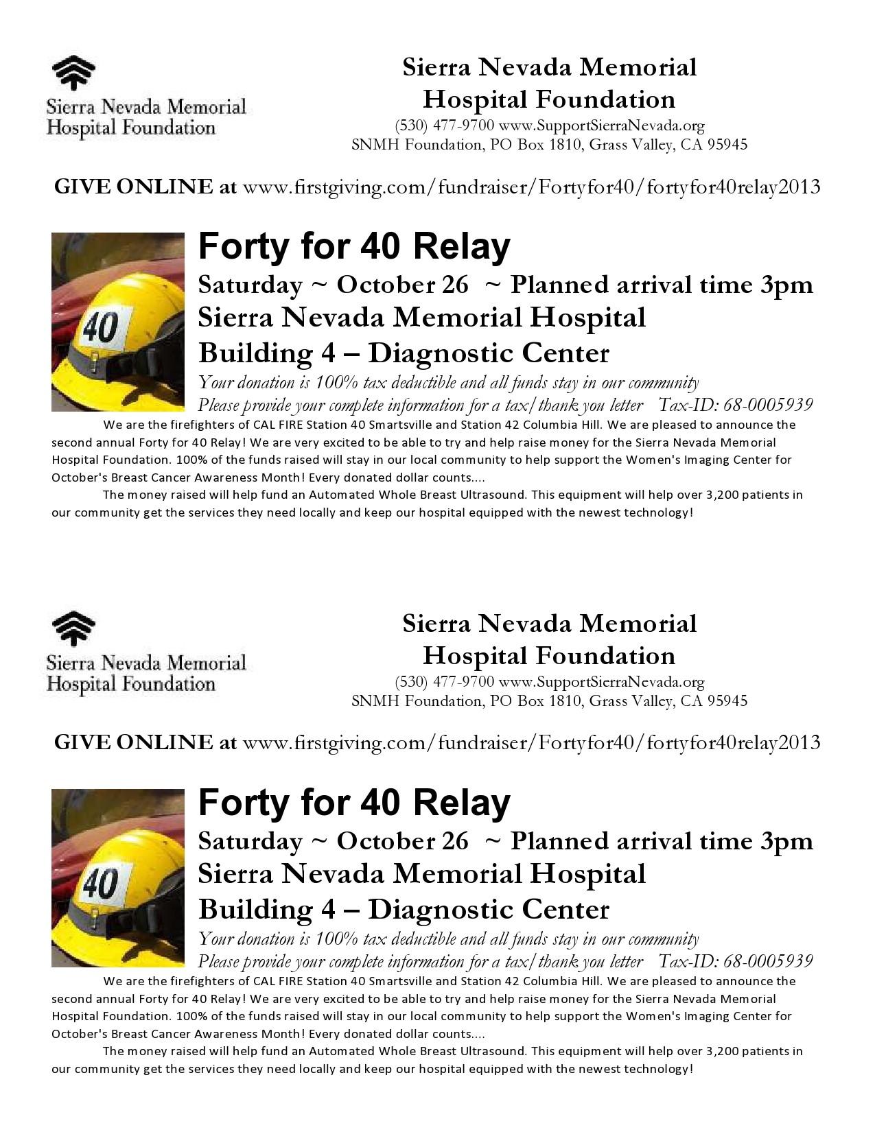 Free fundraiser flyer 34