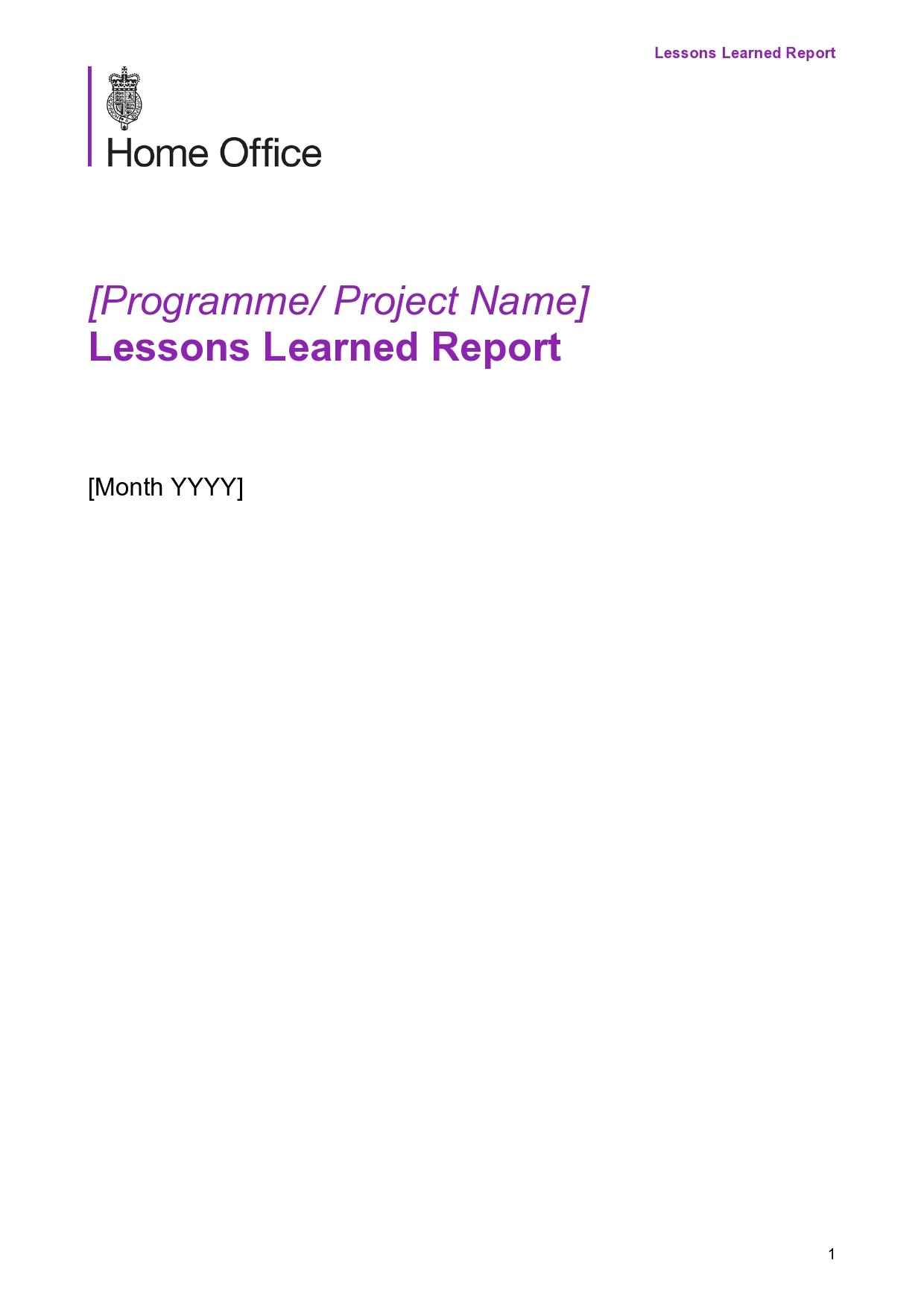 Free lessons learned template 17