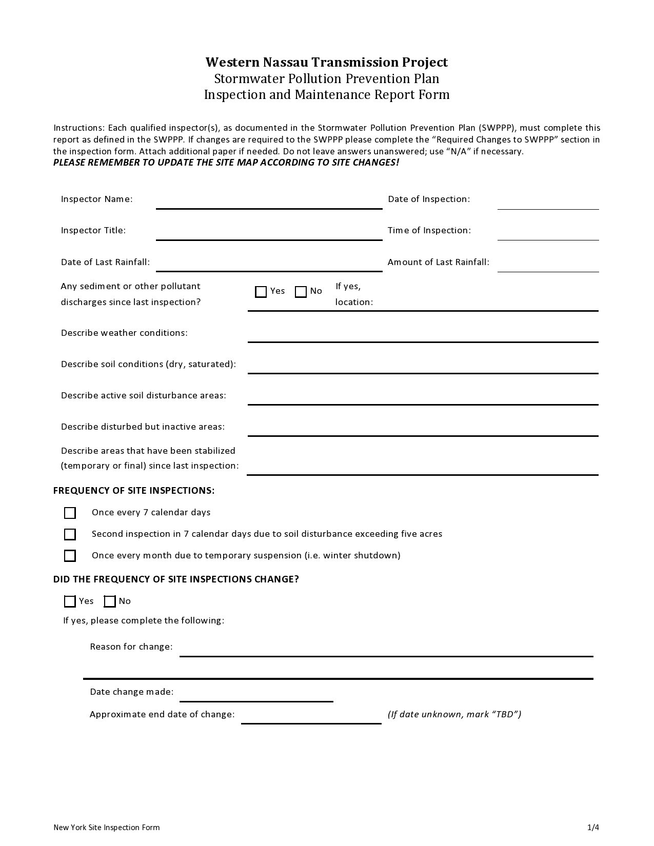 Free maintenance report form 39