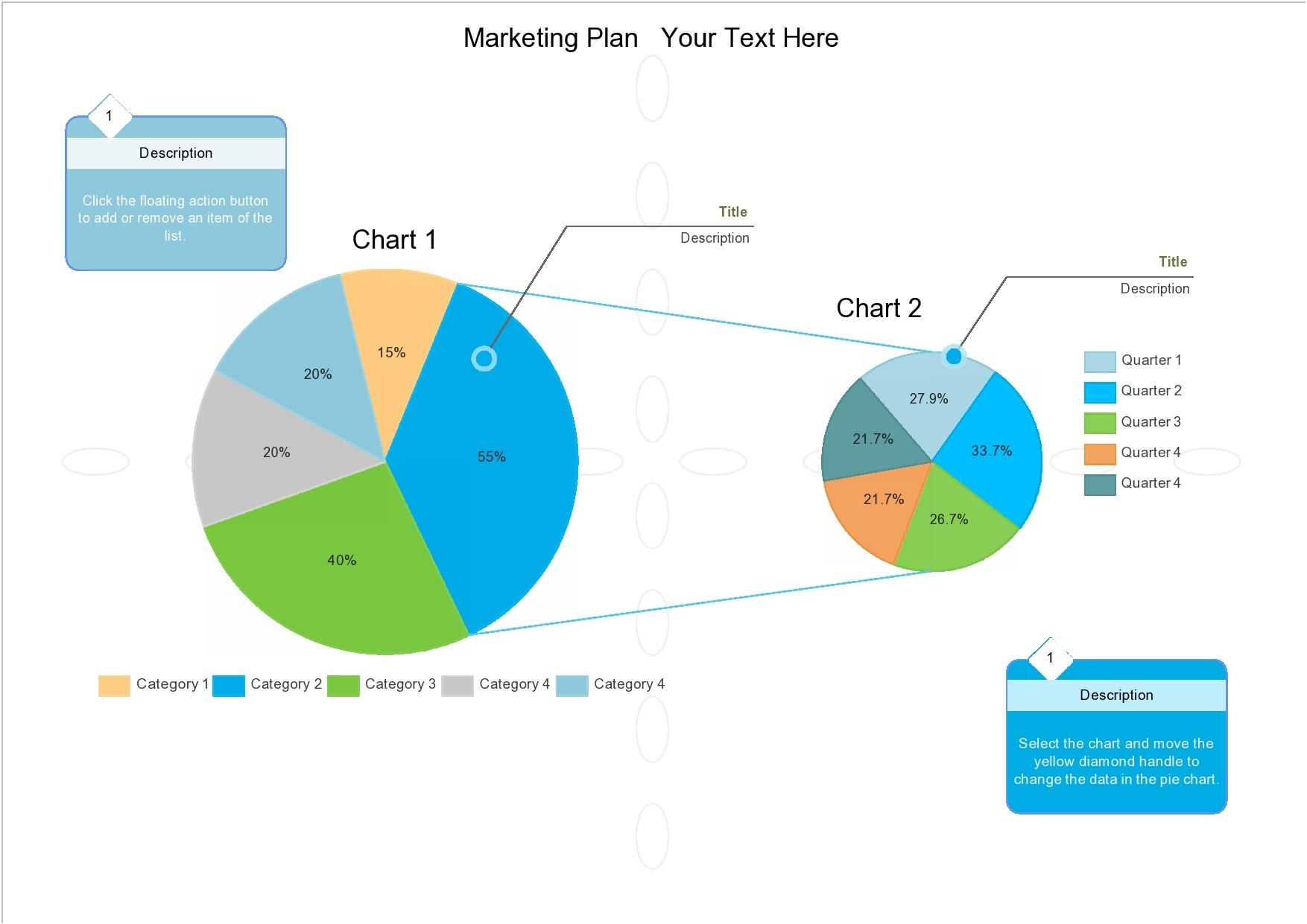 Free pie chart template 10