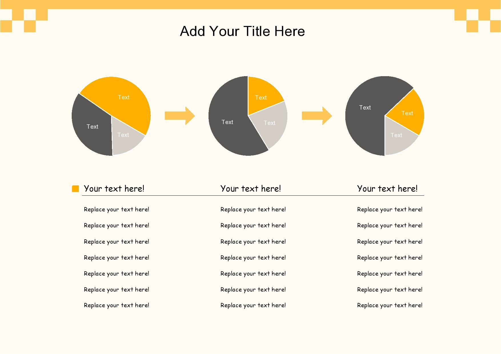 Free pie chart template 20