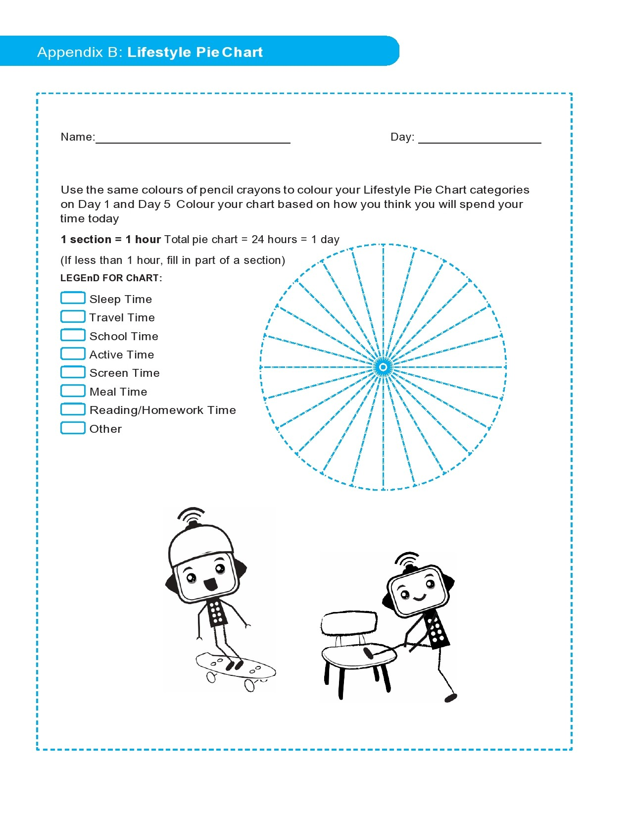 Free pie chart template 28