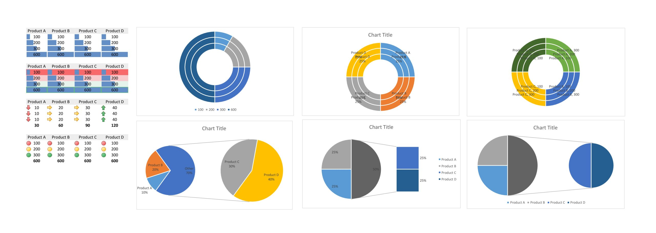 Free pie chart template 40