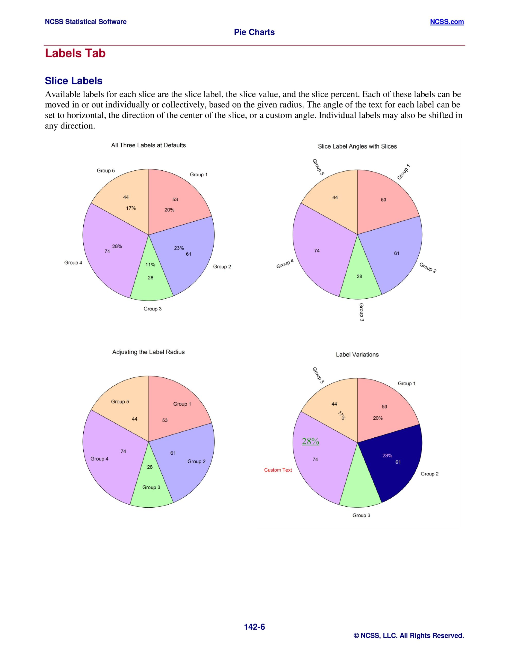 Free pie chart template 44