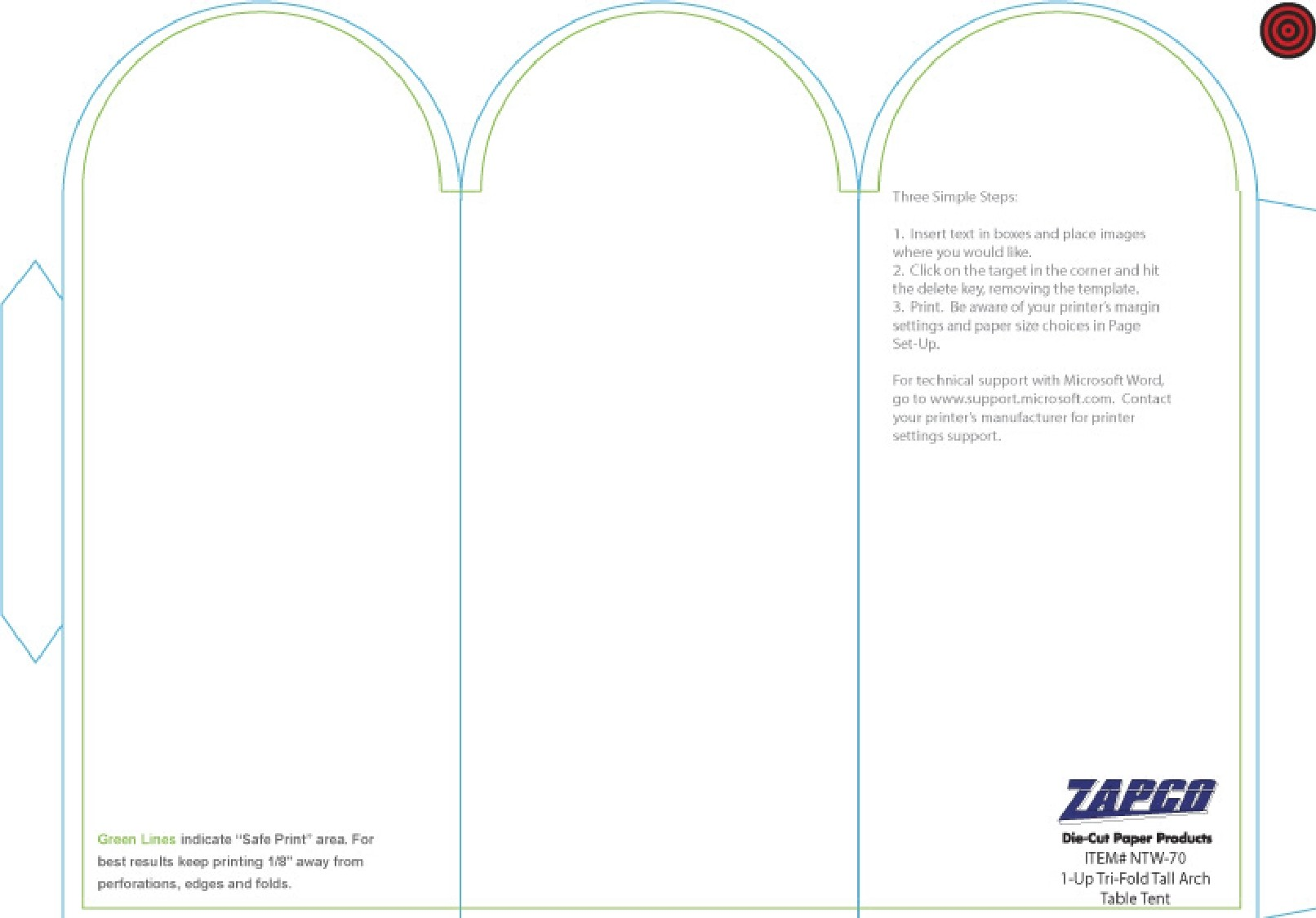 Free place card template 42