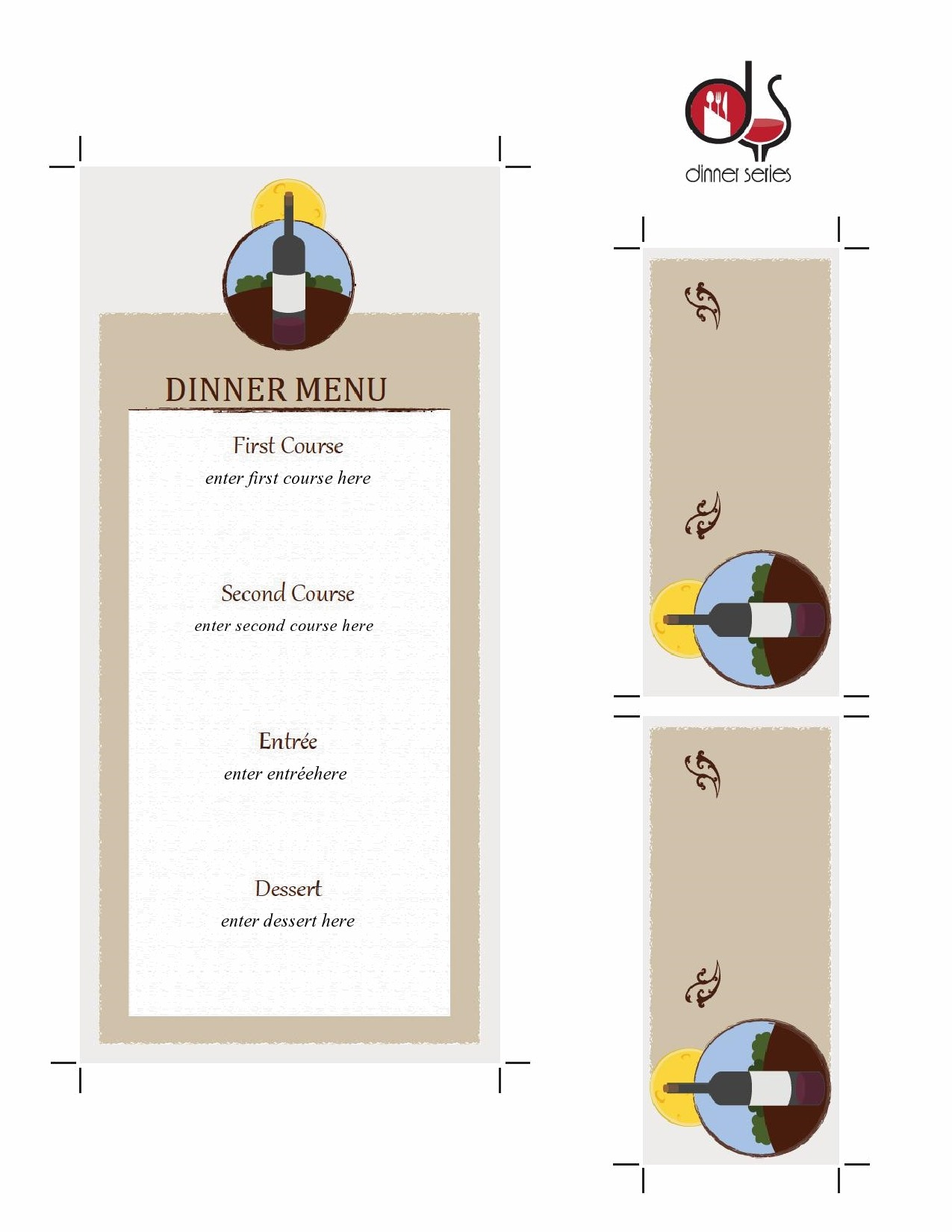 Free place card template 45
