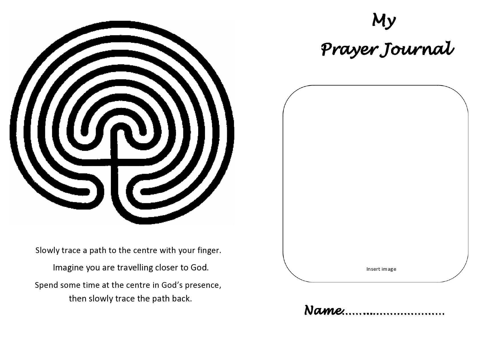 Free prayer journal template 03