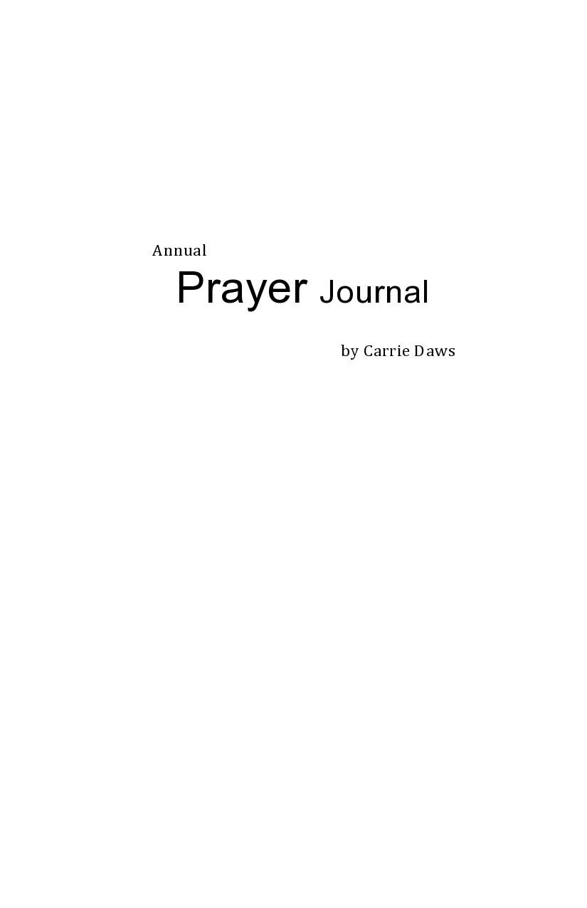 Free prayer journal template 06
