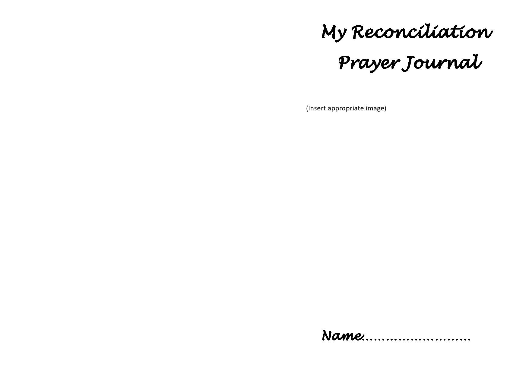 Free prayer journal template 41
